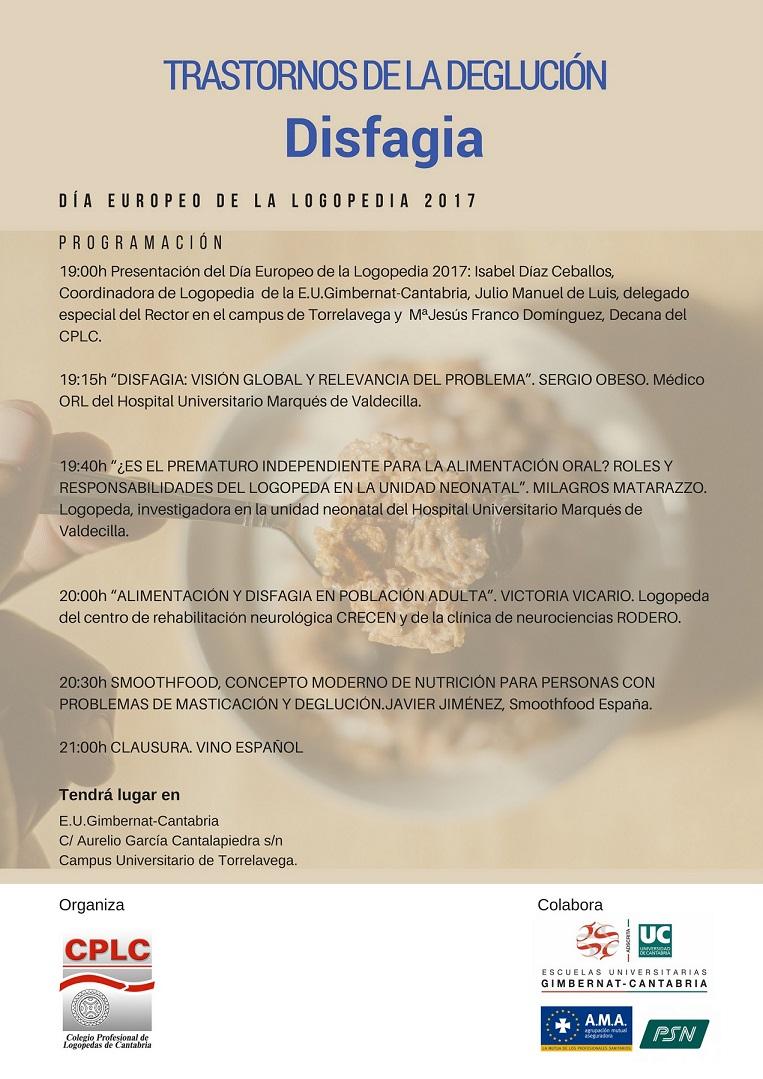Día europeo de la Logopedia 2017 del Colegio Profesional de Logopedas de Cantabria
