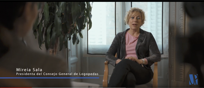 VÍDEO DE LA PRESIDENTA DEL CONSEJO GENERAL DE COLEGIOS DE LOGOPEDAS