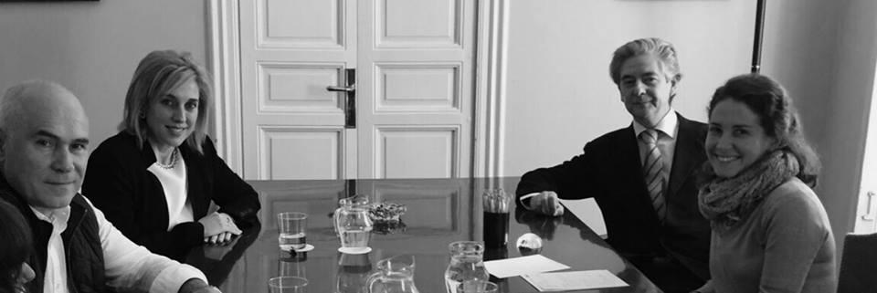Miembros del Comité Ejecutivo del Consejo General de Colegios de Logopedas, se reúnen con D. Gonzalo Múzquiz, secretario de la Unión Profesional para compartir sinergias entre Organizaciones