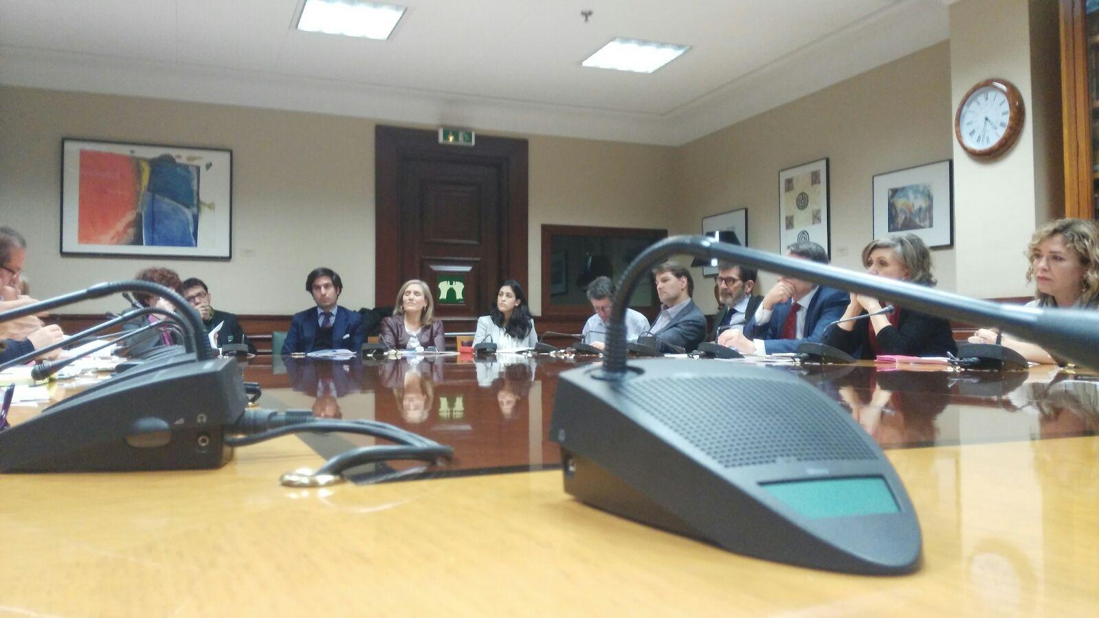 Reunión del CGCL con PSOE y Ciudadanos en el Congreso de los Diputados