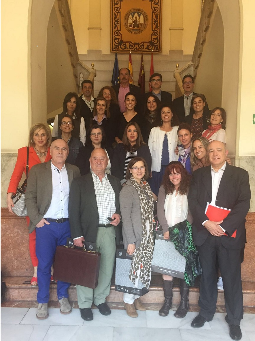 El Comité ejecutivo del CGCL acudió a la Conferencia de Decanos de Logopedia de las Universidades Españolas (CDLUE)