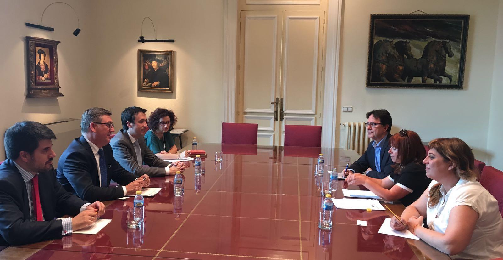 Reunión el pasado día 19 de julio con D. Marcial Marín Hellín, Secretario de Estado de Educación, Formación profesional y Universidades