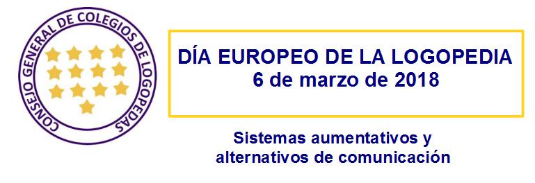 Día Europeo de la Logopedia. 6 de marzo de 2018
