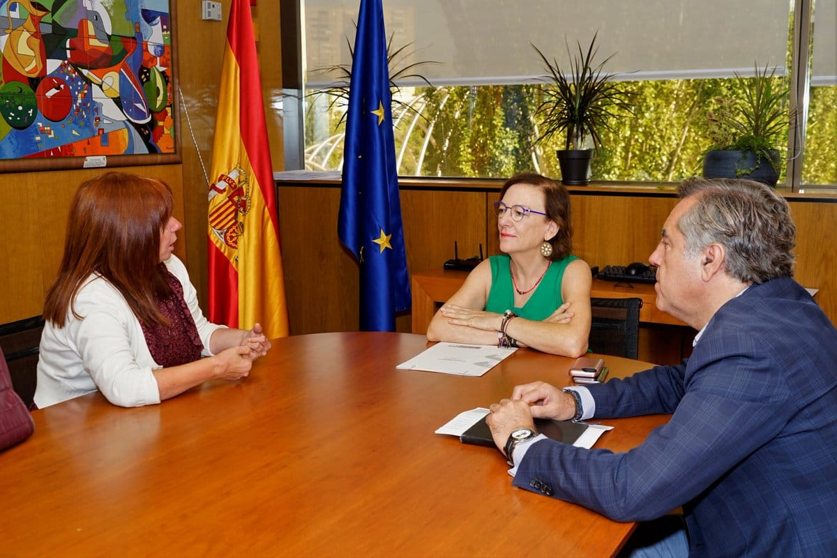 Primer encuentro con la Directora General del IMSERSO. Estrategia Nacional de Disfagia